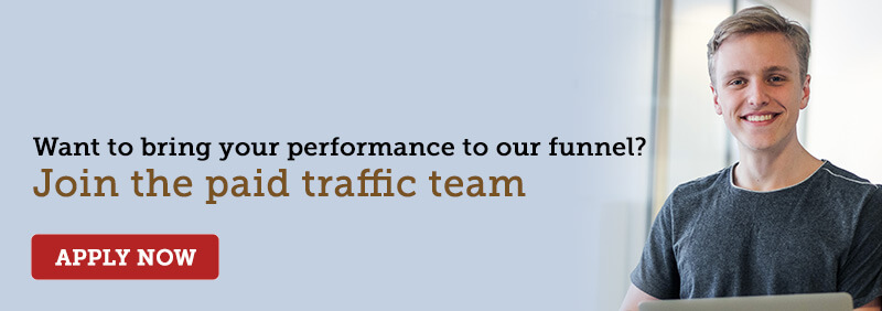 Paid Traffic Specialist Recruitment